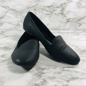 Call It Spring Black Loafers Size 11